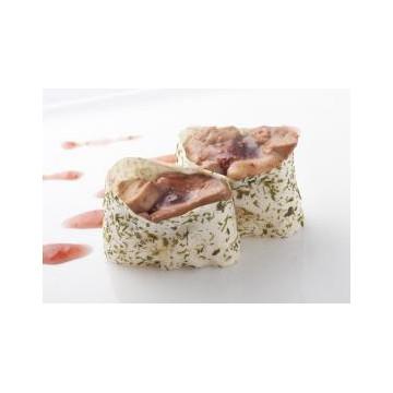Sushi foie gras poêlé