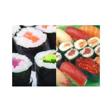 Buffet assortiment Sushi, Maki